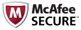 The site whsh4u.com has earned the McAfee SECURE certification