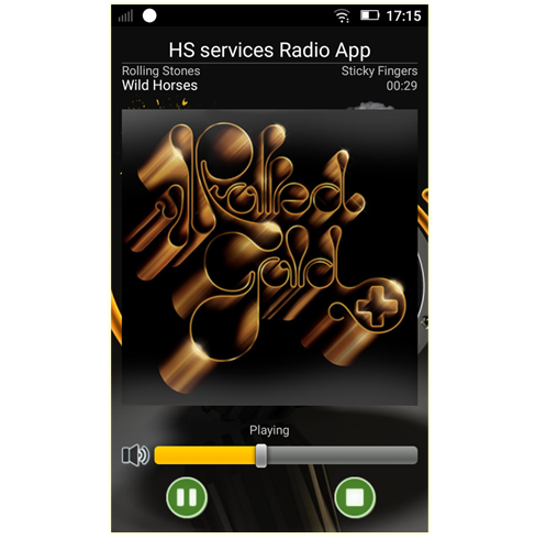 HS services, FREE Android Radio App