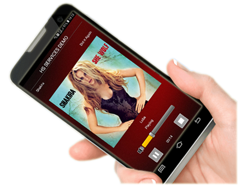 HS services, Android Radio App