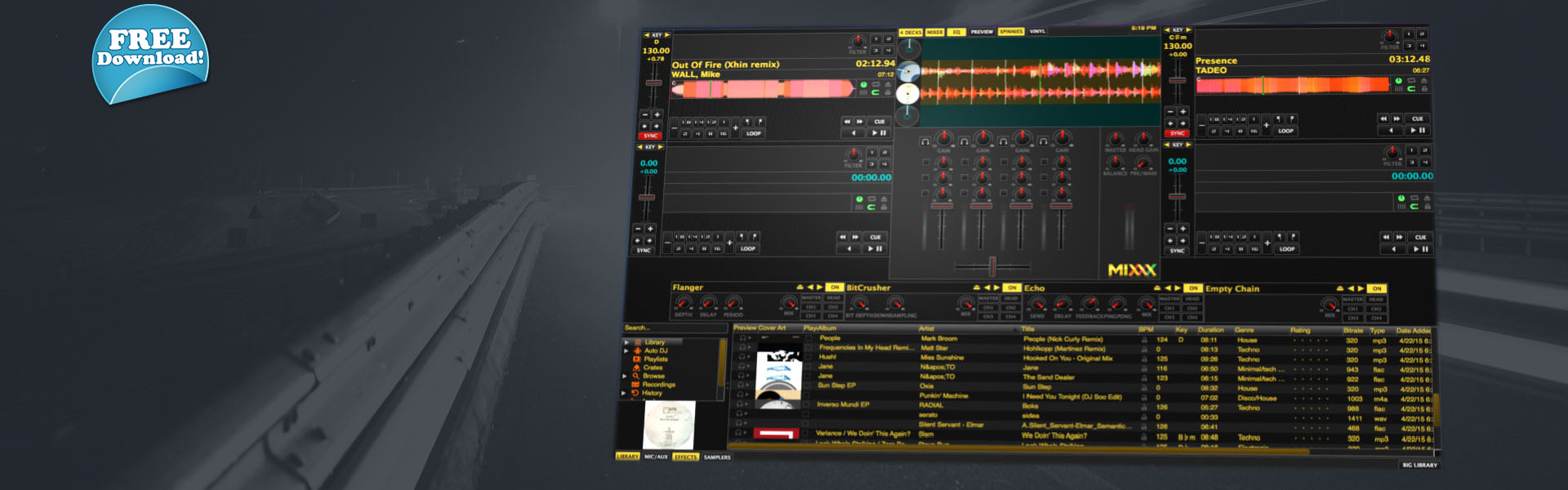 Mixxx 2.0 The most advanced free DJ & Streaming software!!!