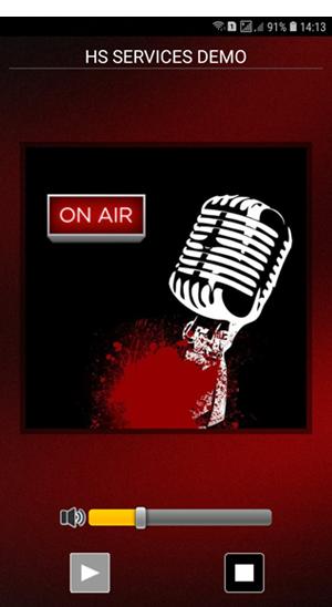 Icecast Free Android radio App