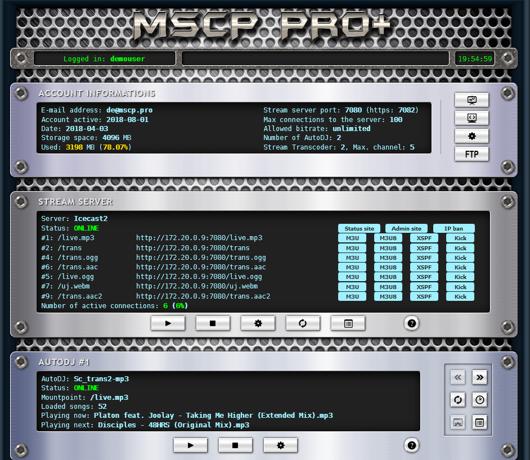 MSCP Pro Control Panel