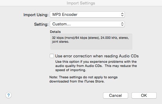 itunes mp3 conversion