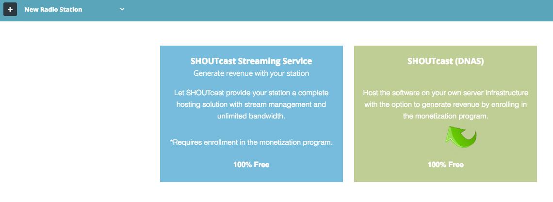 Create SHOUTcast v2 Authhash Key
